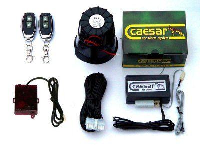 Caesar CT-204UR autóriasztó üvegtörés és légnyomás-érzékelővel