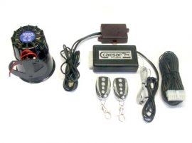 Caesar CT-220UR rablásgátlós autóriasztó üvegtörés és légnyomásváltozás érzékelővel