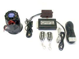 Caesar CT-220UR rablásgátlós autóriasztó üvegtörés és légnyomás-érzékelővel