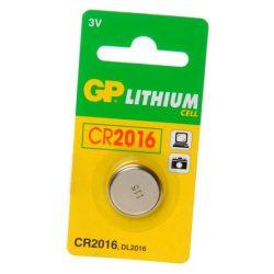 GP CR2016 3V-os elem