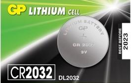 GP CR2032 3V-os elem